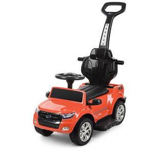 Електромобіль дитячий Ford Ranger M 3575EL-7 помаранчевий каталка-толокар