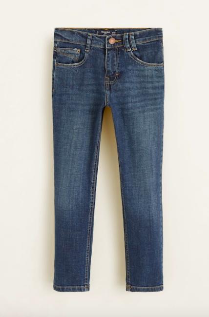 Подростковые джинсы для мальчика Mango Испания Размер 152