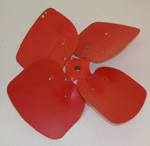 Крыльчатка для вентилятора ERMAF GP95 / Jet master Gp95