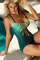 Купальник женский в басейн Gucci рисунок на груди S8030T20 44/C