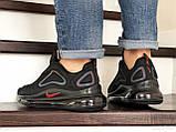 Мужские кроссовки Nike Air Max 720 в стиле найк аир макс черные (Реплика ААА+), фото 3
