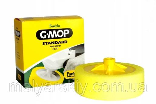 """Круг полірувальний Standard AG6 Rapid Head G Mop 6"""" M14мм ЖОВТИЙ (середній)  FARECLA"""