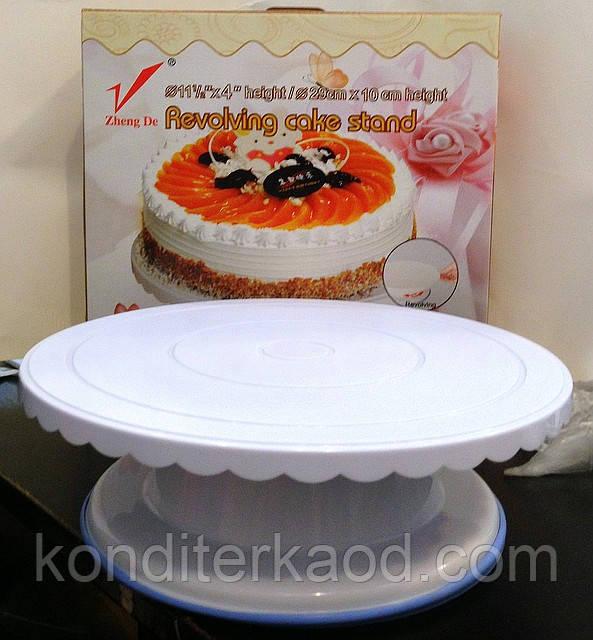 Подставка для торта крутящаяся (средняя)