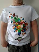 Футболка детская М-крафт ( M-craft) (на мальчика или девочку).