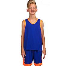 Форма баскетбольная детская Lingo LD-8017T (полиэстер, размер 4XS-M, рост 120-165см, цвета в ассортименте)