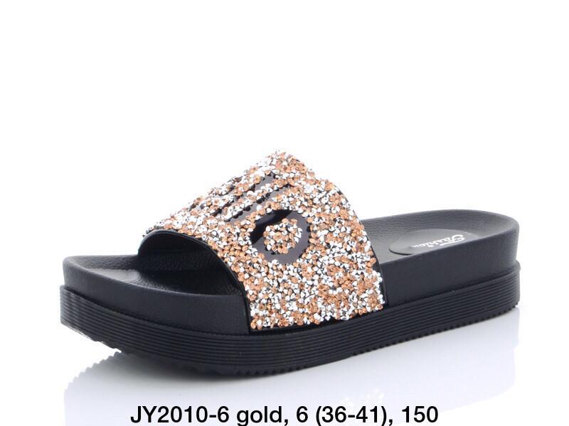 Шлепанцы LION JY2010-6 gold
