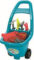 """Тележка садовника """"Гарден"""" 51см с садовыми инструментами, Ecoiffier 18м+ (4542)"""