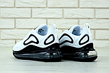 Мужские кроссовки Nike Air Max 720 в стиле найк аир макс белые  (Реплика ААА+), фото 3