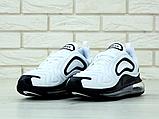 Мужские кроссовки Nike Air Max 720 в стиле найк аир макс белые  (Реплика ААА+), фото 2