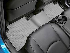 Ковры резиновые WeatherTech Toyota Prius 2017+  задний серый