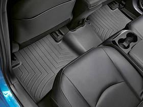 Ковры резиновые WeatherTech Toyota Prius 2017+  задний черный