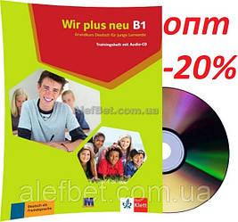 Немецкий язык / Wir neu / Trainingsheft+CD. Тесты к учебнику с диском, B1 / Klett