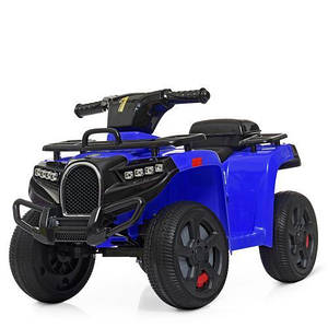 Квадроцикл детский ZP5258E-4 синий мотор 15W 1 аккумулятор 6V4 5AH