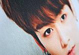 """Подушка  k-pop 40х40 см із змінною наволочкой """"BTS"""", фото 5"""