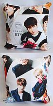 """Подушка k-pop 40х40 см із змінною наволочкой """"BTS"""""""