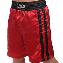 Трусы боксерские VELO VL-8110 (цвета в ассортименте)