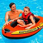 Човен надувний одномісний дитячий гребний Intex Explorer Pro 50, фото 3