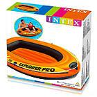 Човен надувний одномісний дитячий гребний Intex Explorer Pro 50, фото 4