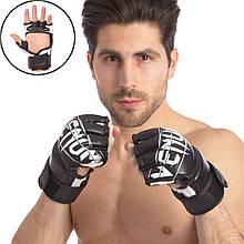 Перчатки для смешанных единоборств MMA FLEX VENUM 0985 (р-р M-XL, цвета в ассортименте)