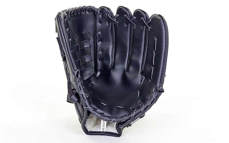 Ловушка для бейсбола C-1877 (PVC, р-р 11,5, черный, коричневый)