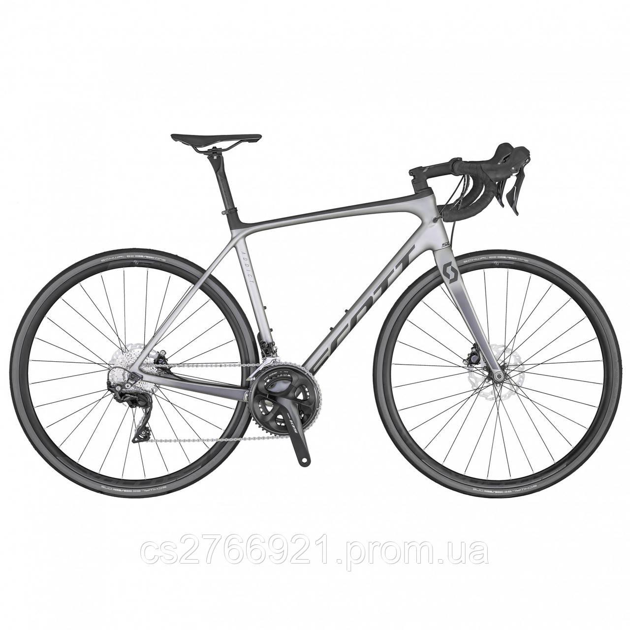 Велосипед ADDICT 20 DISC серый (TW) 20 SCOTT