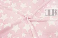 Плотный 100х90 см детский хлопковый байковый флисовый детский одеяло плед для малышей в коляску 4837 Розовый