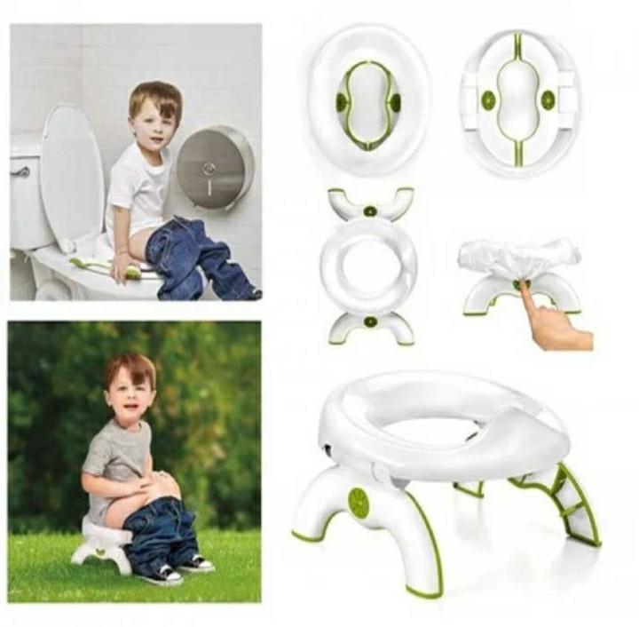 Дитячий дорожній туалет OXO Tot 2-in-1 Go Potty