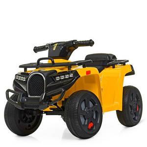 Квадроцикл желтый детский ZP5258E-6 прочный качественный