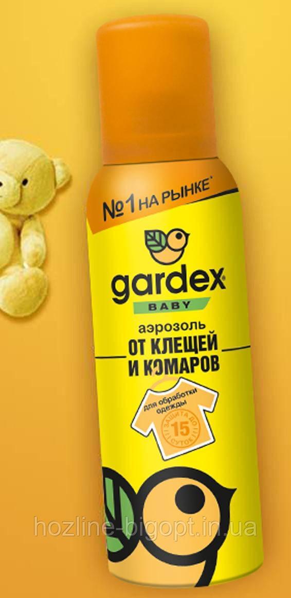 GARDEX baby Аерозоль від кліщів і комарів для дітей, 100 мл