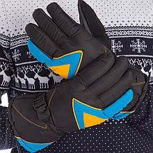 Перчатки горнолыжные теплые A-63 (р-р M-L, L-XL , уп.-12пар, цена за 1пару, цвета в ассортименте)