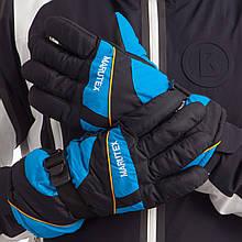 Перчатки горнолыжные теплые A-7707 (р-р M-L, L-XL , уп.-12пар, цена за 1пару, цвета в ассортименте)