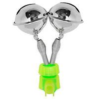 Колокольчик на 2 бубенчика сигнализатор поклевки для фидера STENSON (дзвіночок сигналізатор клювання)