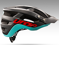 Шлем Urge SeriAll черно-бирюзовый S/M, 55-58см