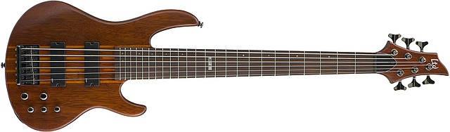 Бас гитара LTD D6 (NS) 6-струнная, фото 2