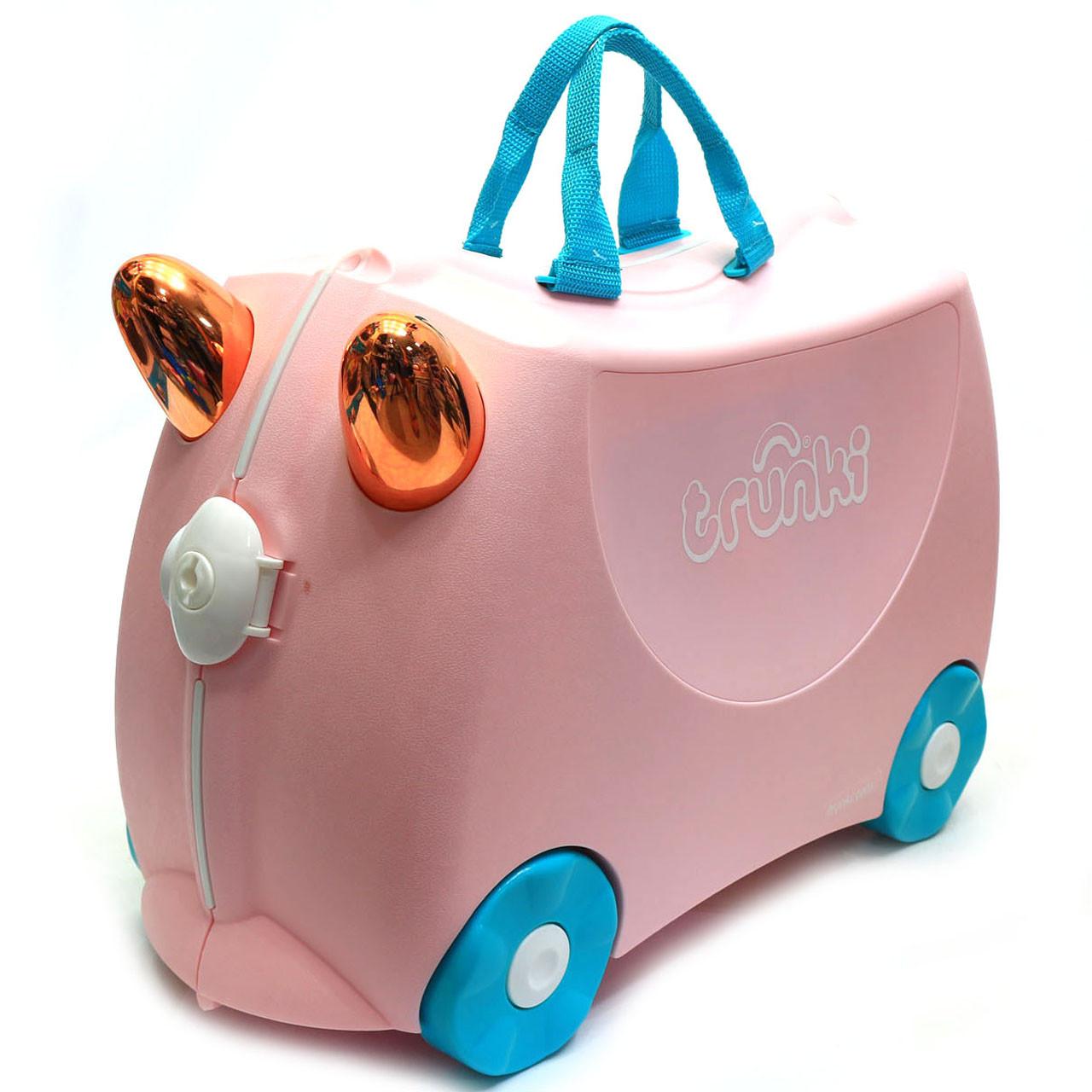 Детский чемодан Trunki для путешествий Flossi Flamingo (0353-GB01)