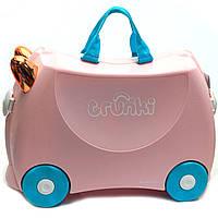 Детский чемодан Trunki для путешествий Flossi Flamingo (0353-GB01), фото 3