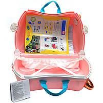 Детский чемодан Trunki для путешествий Flossi Flamingo (0353-GB01), фото 4