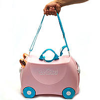 Детский чемодан Trunki для путешествий Flossi Flamingo (0353-GB01), фото 6
