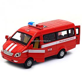Машинка игровая Автопром Спасательная служба со световыми и звуковыми эффектами (7644)