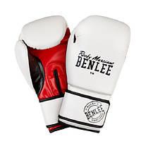 Перчатки боксерские Benlee CARLOS 10oz /PU/бело-черно-красные