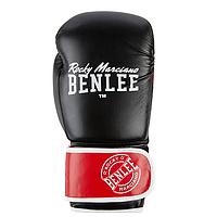 Перчатки боксерские Benlee CARLOS 10oz /PU/черно-красно-белые