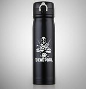 Термос из нержавеющей стали для воды, чая Deadpool 500мл, термокружка
