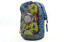 Сумка-рюкзак на 20 мячей С-4894 (полиэстер, р-р 85x50x45см, синий)