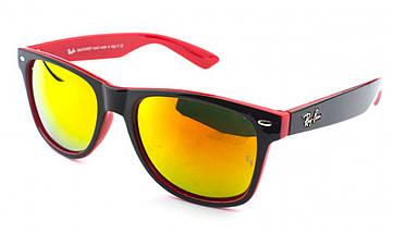 Солнцезащитные очки Ray Ban пластик. оправа RB2140, фото 3