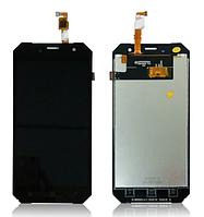 Оригинальный дисплей (модуль) + тачскрин (сенсор) Sigma X-treme PQ34 | X-treme PQ35 | X-treme PQ53 (черный)