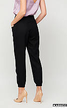 Укороченные брюки с высокой посадкой /разные цвета, S, M, L, KR-Тимми/, фото 3