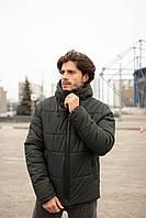 Зимняя мужская куртка хаки
