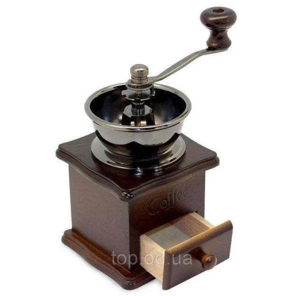 Кофемолка ручная механическая Kamille