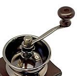 Кофемолка ручная механическая Kamille, фото 3