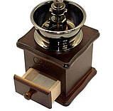 Кофемолка ручная механическая Kamille, фото 2